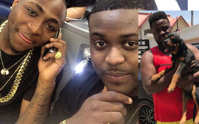 My dog eats better than some of y'all - Davido's brother says on Snapchat