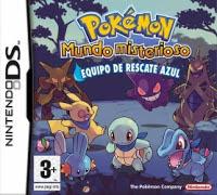 Pokemon Mundo Misterioso Equipo de Rescate Azul NDS en español mega