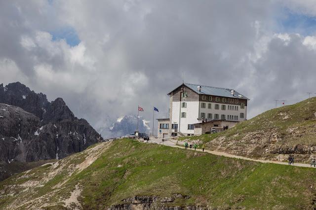 Rundtour Drei Zinnen - Dreizinnenhütte  Wanderung Sextner Dolomiten  Wandern Südtirol  Tourenbericht Tre Cime di Lavaredo  GPS-Track 04