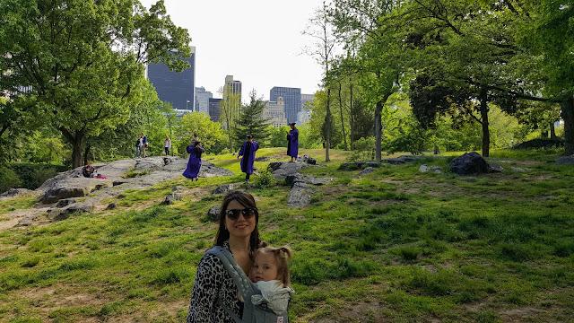 Central Park com filhos