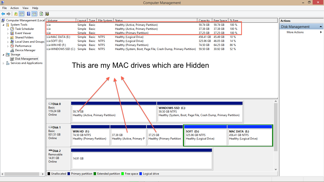 Full Access NTFS in Mac and HFS in Windows