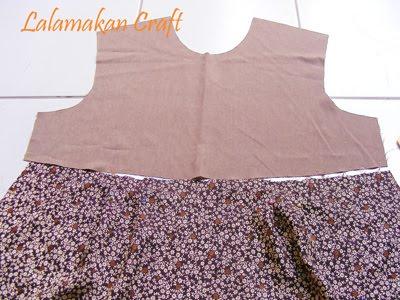 Dunia Mode Cara Membuat Pola Gamis