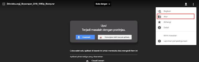 Penyebab Tidak Dapat Download Di Google Drive Karena Kelebihan Limit