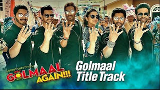 Golmaal Again Title Track Lyrics – Brijesh Shandilya & Aditi Singh Sharma Song