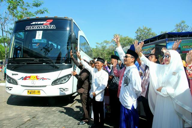 Hari ini 794 Calon Jemaah Haji Probolinggo Berangkat Menunaikan Ibadah Haji