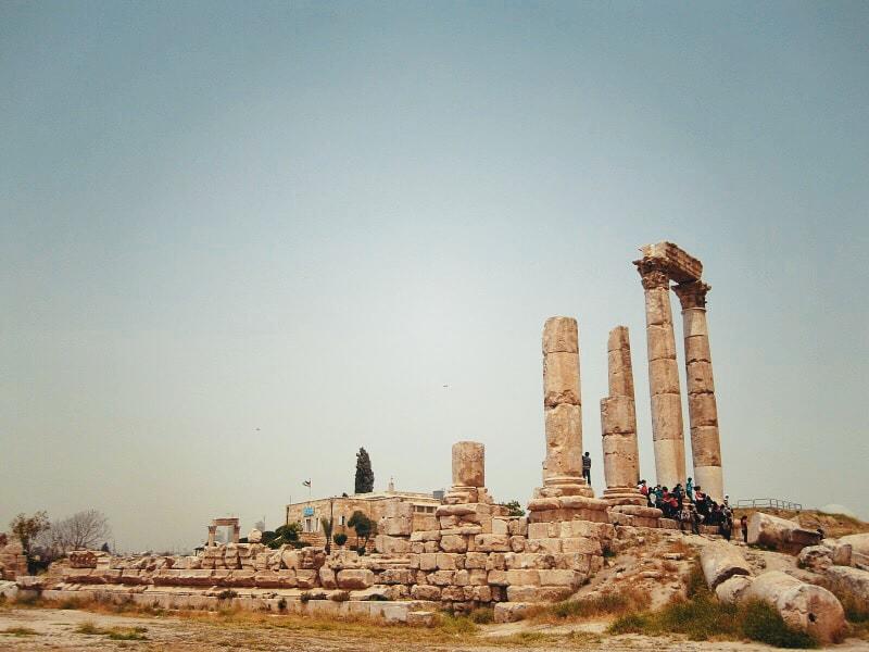 cosa-vedere-in-giordania-amman-cittadella