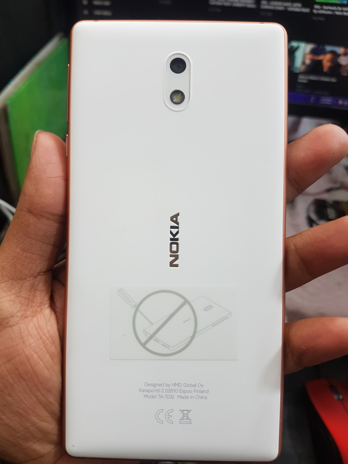 GSM RAJU BD: NOKIA 3 TA-1032 MT6737M ONLY VIBRATE DEAD BOOT