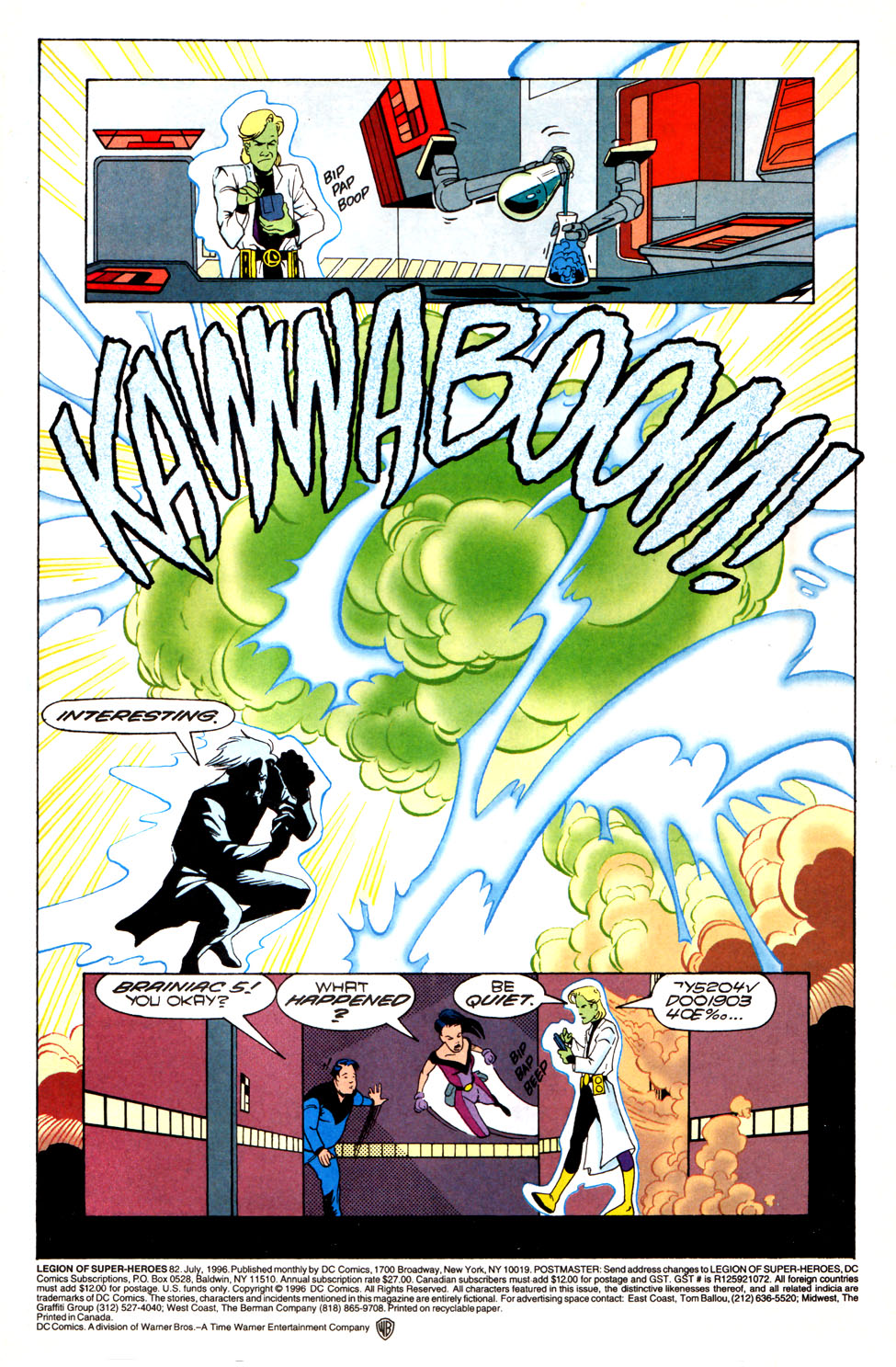 Legion of Super-Heroes (1989) 82 Page 1