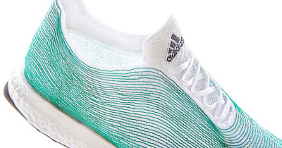 Adidas release first ocean plastic shoe ultraboost uncaged parley