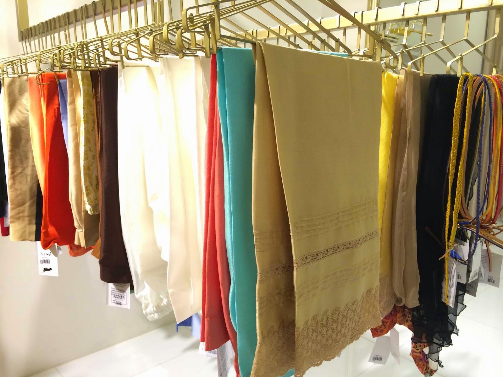 Sania Maskatiya's store silk trousers