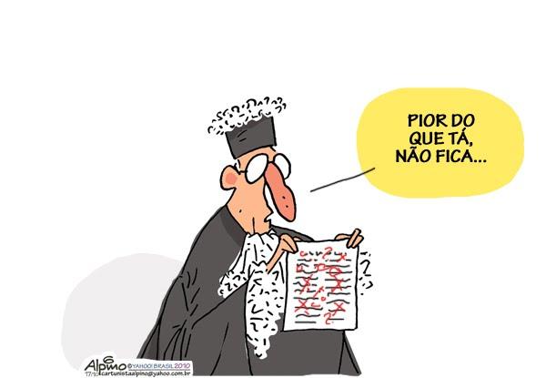 Resultado de imagem para judiciário corrupto charges