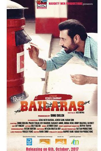 Bailaras 2017 Punjabi Movie Download