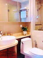 Thuê chung cư Saigon Pearl 2 phòng ngủ - bồn cầu nhà vệ sinh