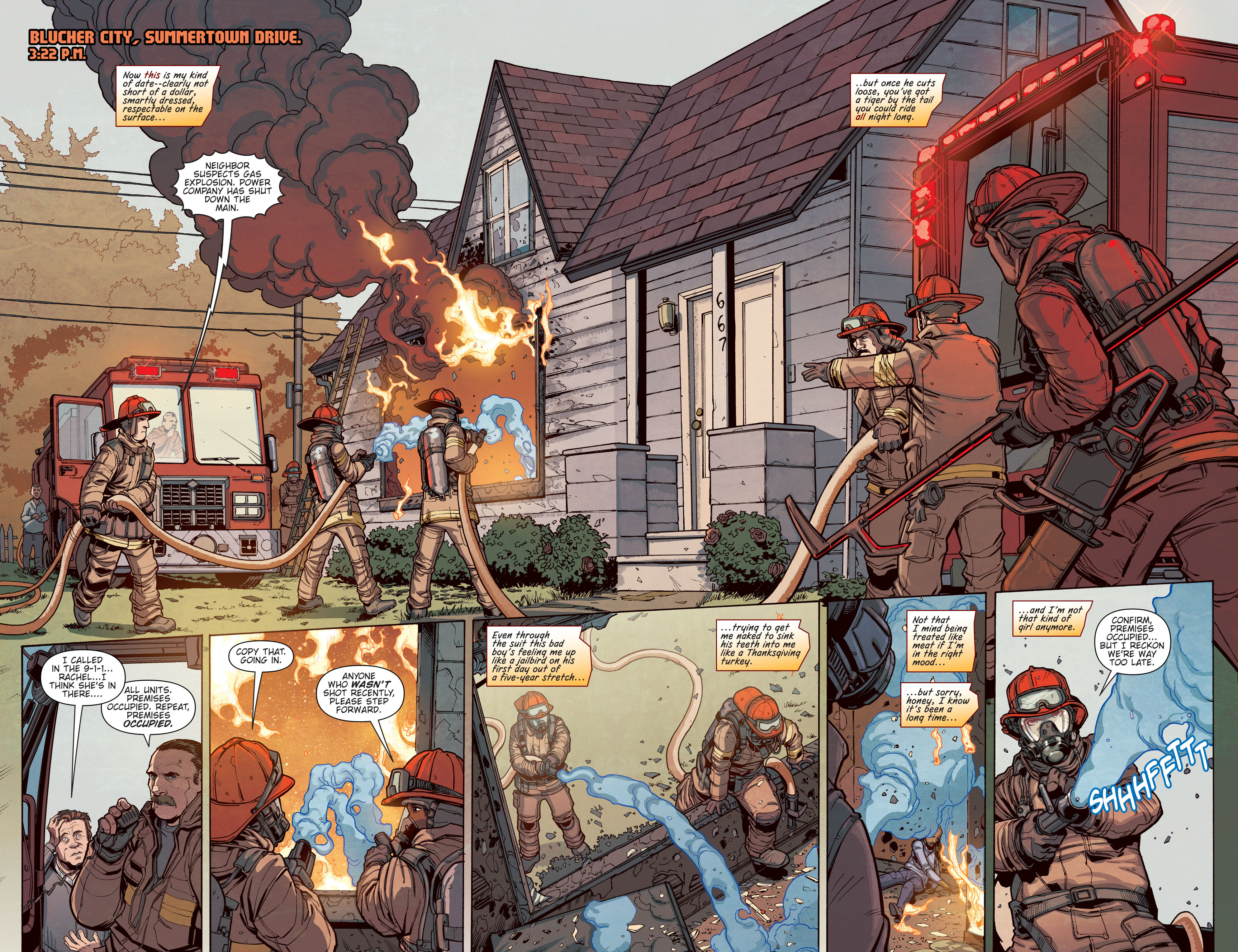 Read online Slash & Burn comic -  Issue #3 - 7