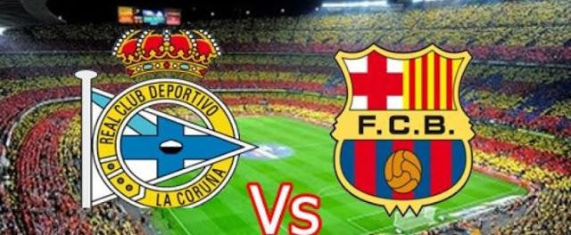 اخبار الرياضة العالمية | مباراة برشلونة وديبورتيفو لاكورونيا  اليوم السبت 15/10/2016