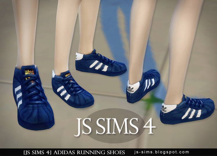 delicadeza huevo Enmarañarse  JS SIMS 4] Adidas Running Shoes @ JS SIMS :: 痞客邦::