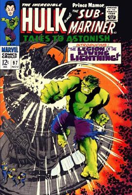 Tales to Astonish #97, the Hulk