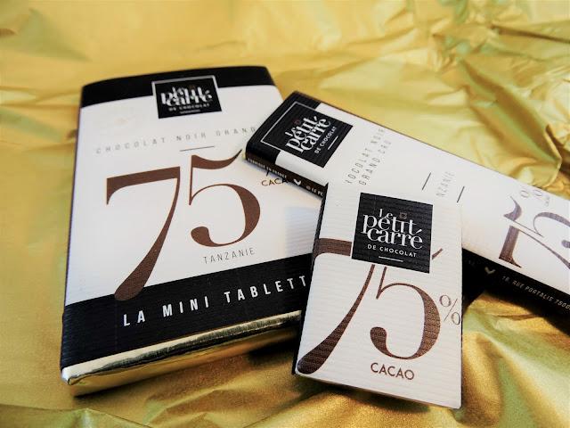 Le petit carré de chocolat chocolats grands crus