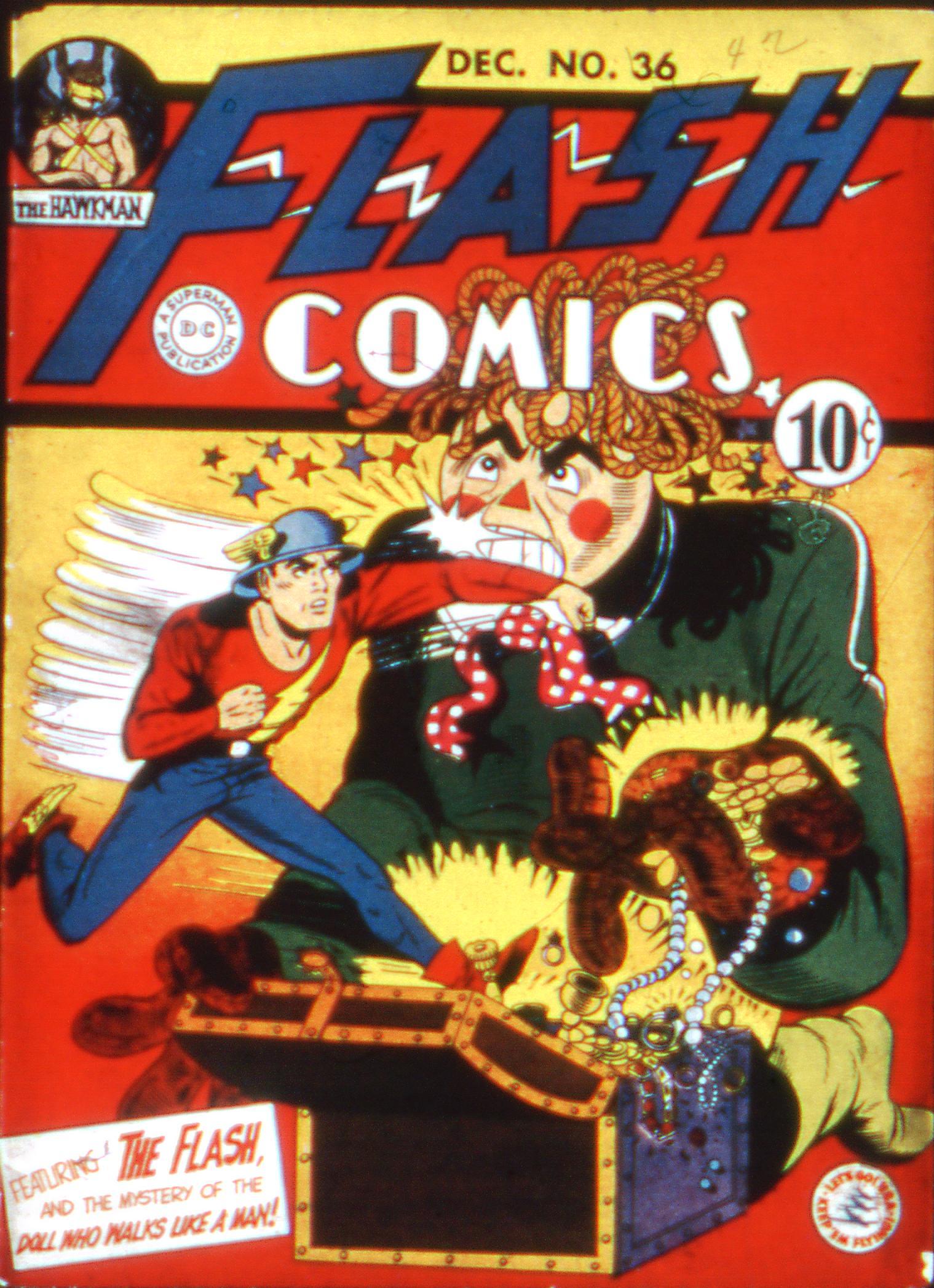 Flash Comics 36 Page 1