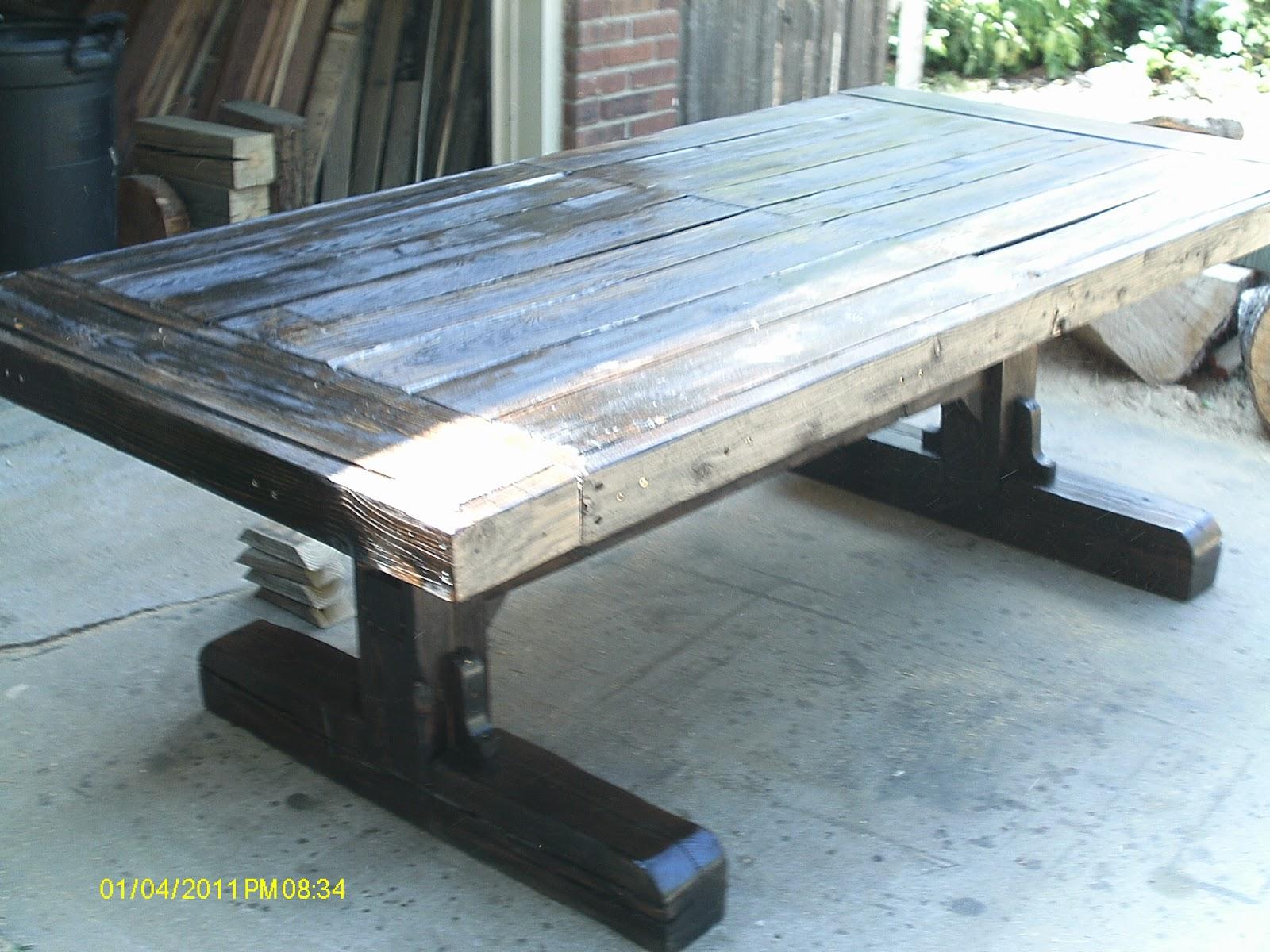 100 X 46 30 Reclaimed Barnwood Dining Table