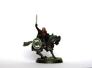 Miniature Eomer Marshal of the Riddermark LotR