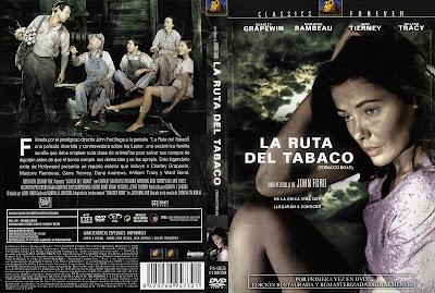 La ruta del tabaco | 1941 | Tobacco Road | caratula - Cine clásico