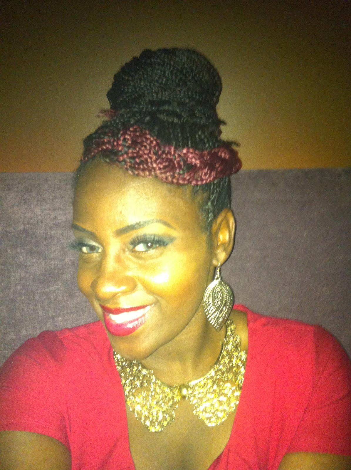 Perfect Tresses How I Rocked My Box Braids Styling