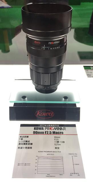 Kowa Prominar 90mm f/2.5 Macro