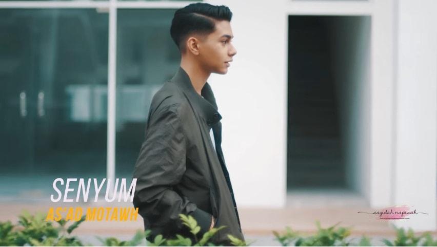 Lirik Lagu Senyum - As'ad Motawh