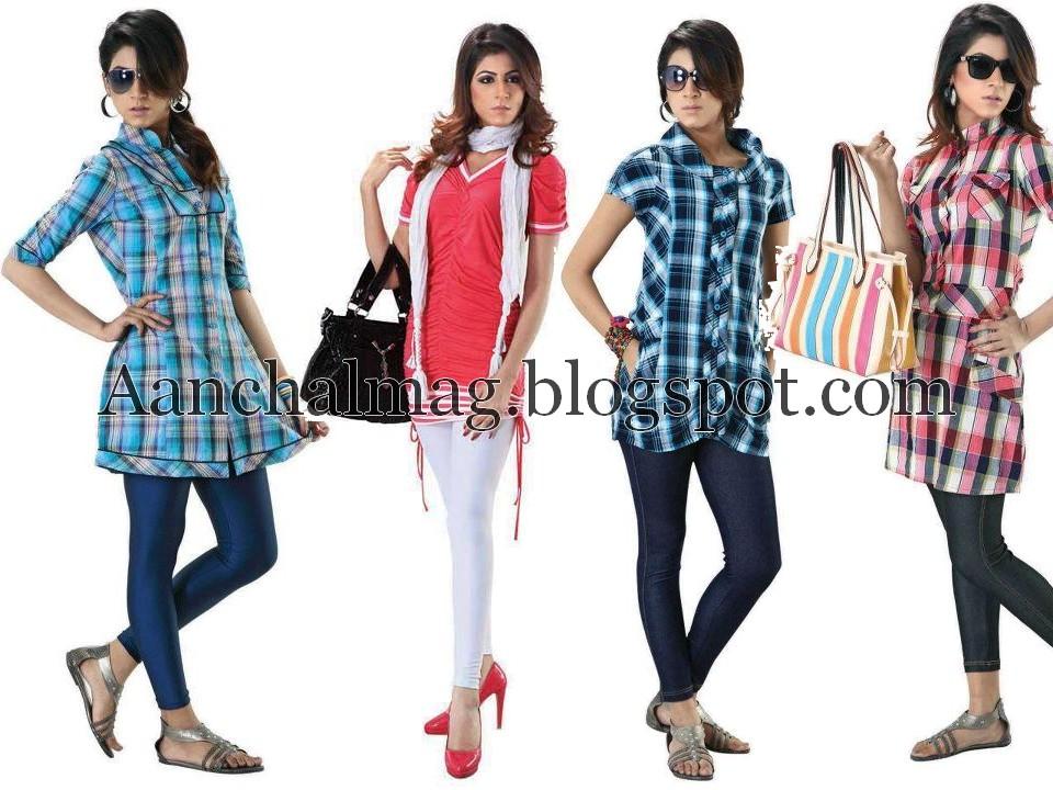 eb2dfa7c2 Aanchalmag  Cougar Summer Casual Wear 2012 For Girls