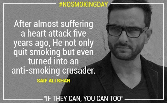 No Smoking Saif Ali Khan