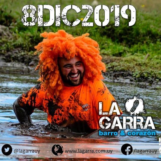 5k La Garra - carrera con obstáculos y mucho barro (Montevideo, 08/dic/2019)