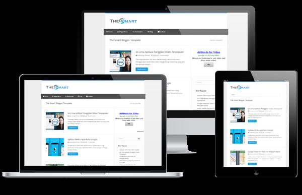 download the smart premium blogger theme