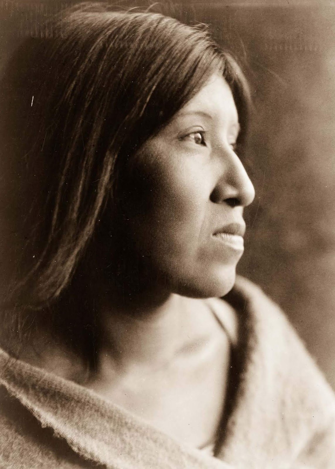 A Cahuilla woman. 1924.