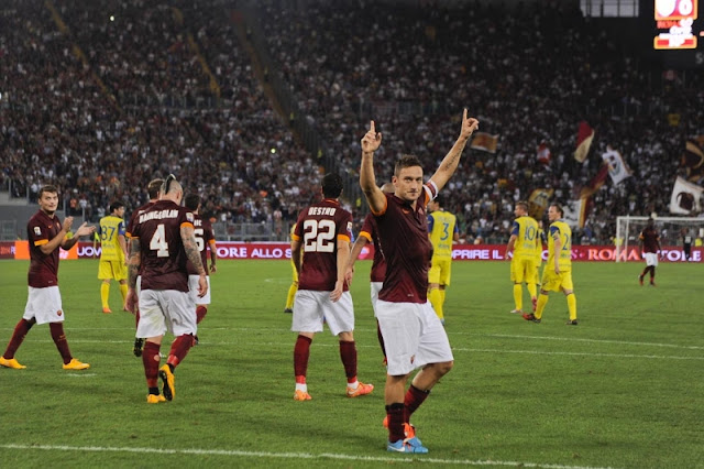 Chievo vs Roma