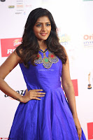 Eesha in Cute Blue Sleevelss Short Frock at Mirchi Music Awards South 2017 ~  Exclusive Celebrities Galleries 052.JPG