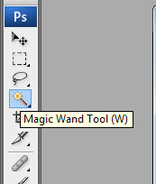 Pilih Magic Wand Tool