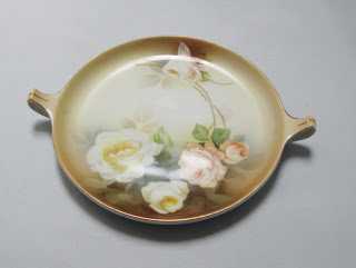 RS Tillowitz Floral Plate Rose covered
