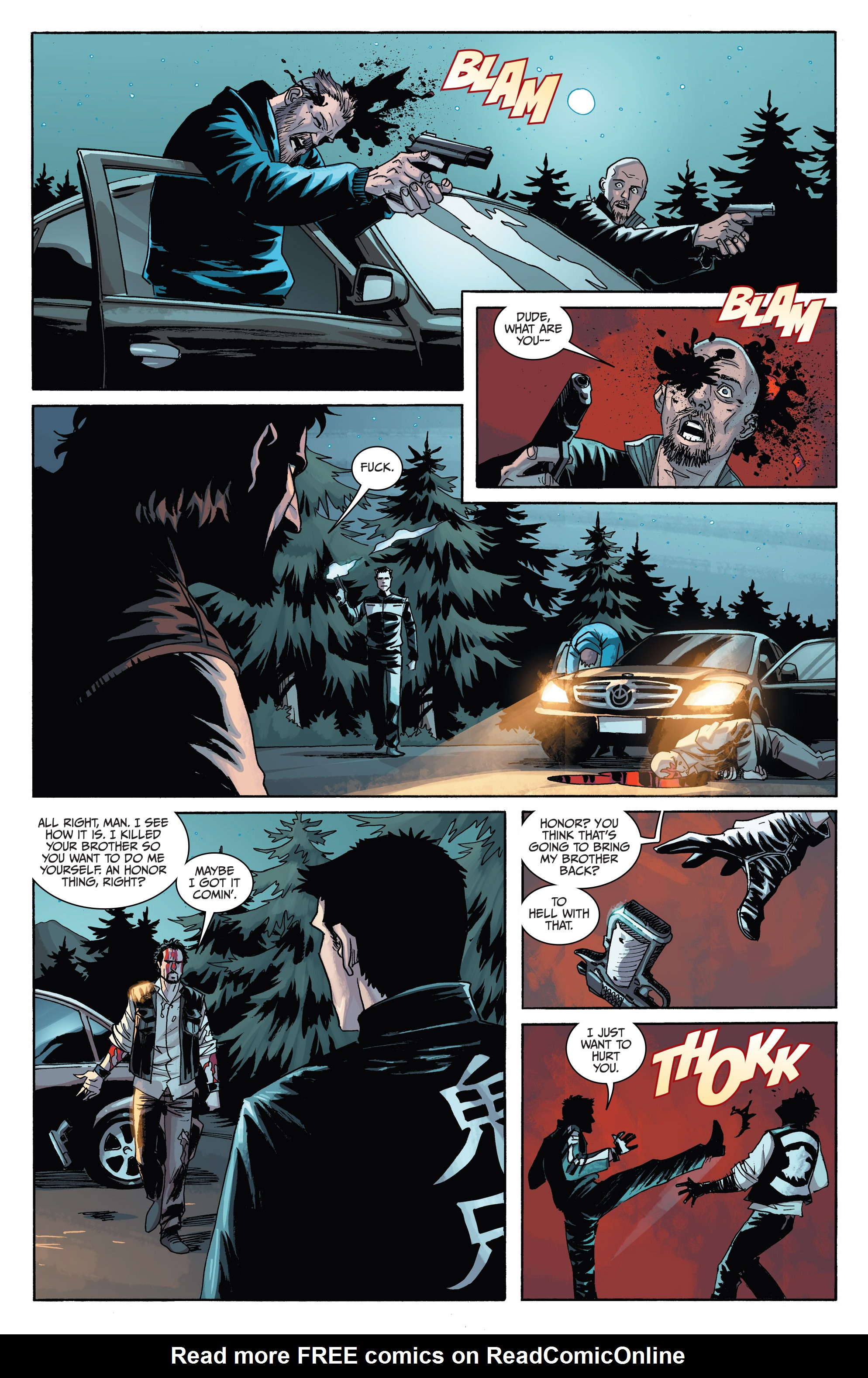 Read online Sons of Anarchy comic -  Issue #6 - 21