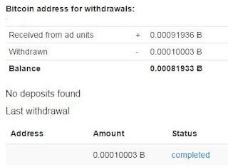 Estas son mis ganancias con anonymous ads, en tan solo 7 dias, con un porcentaje de 100 visitas diarias