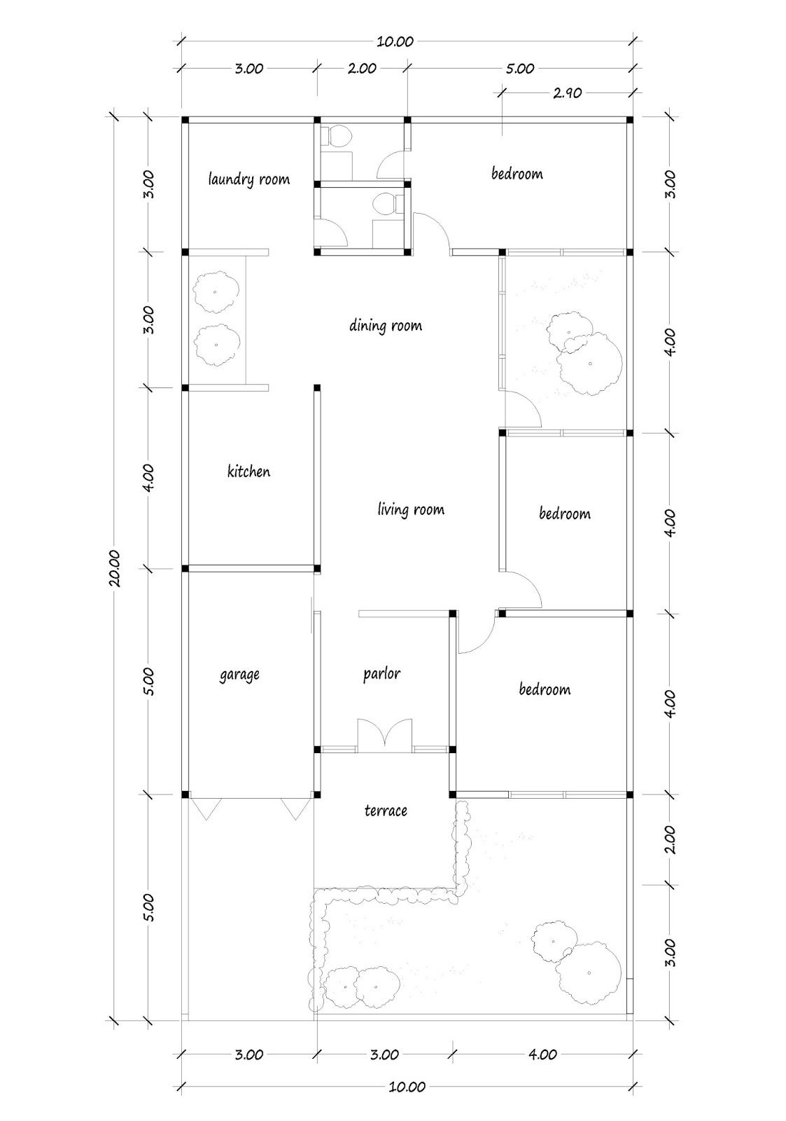 House plans for you plans image design and about house for 10x20 tiny house floor plans