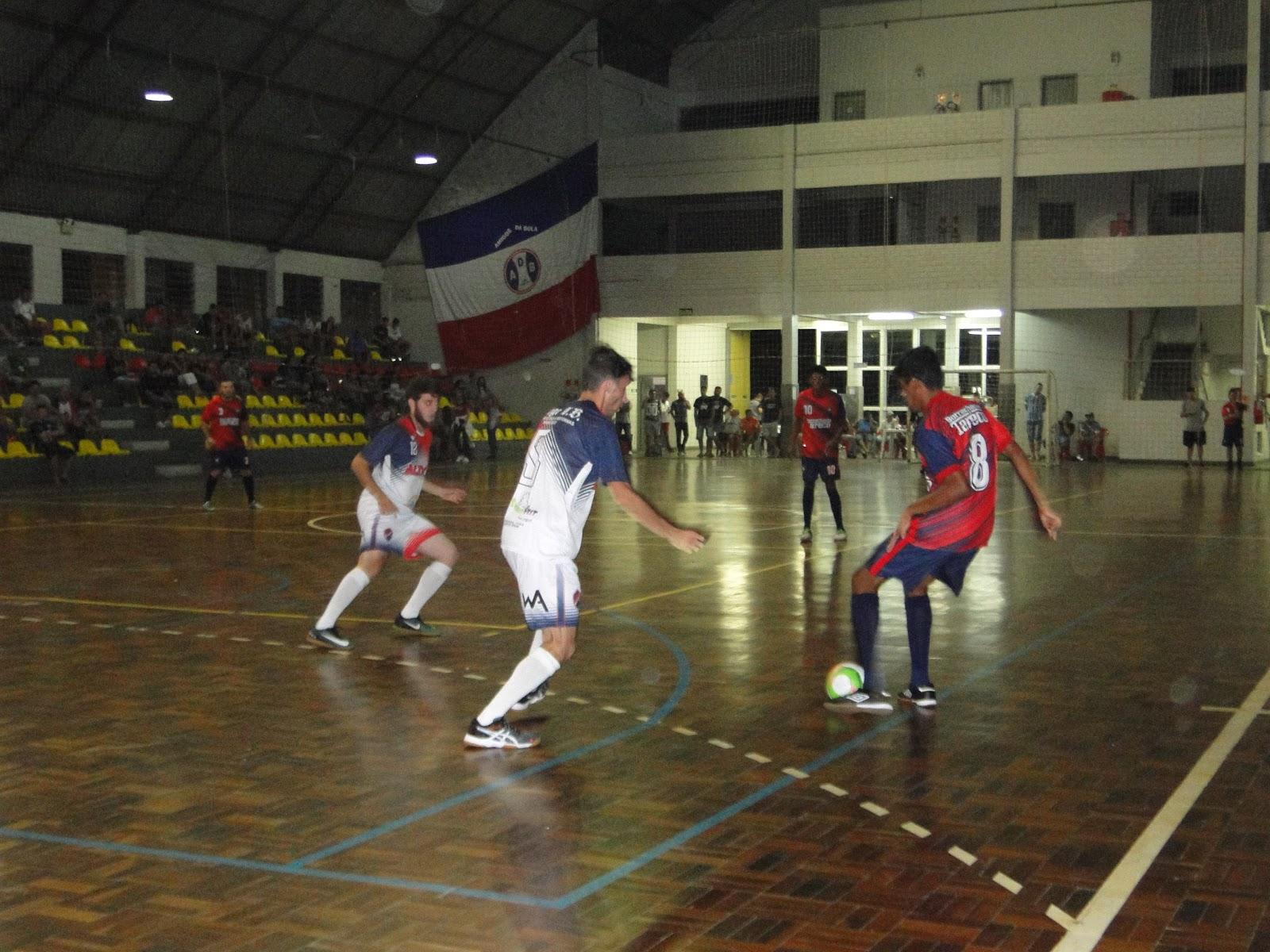 8b0d3b4cd3 Esporte Campo Bom 2018  Futsal Série Ouro terá mais três jogos nesta ...