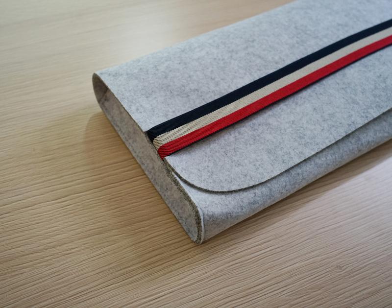 mechanical keyboard dust-proof felt bag carry case for gh60 //filco87//104//leopold