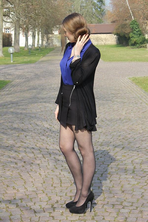 Blau Und Schwarz Kombinieren : the name of style is lola outfit of the day blau und schwarz ~ Buech-reservation.com Haus und Dekorationen