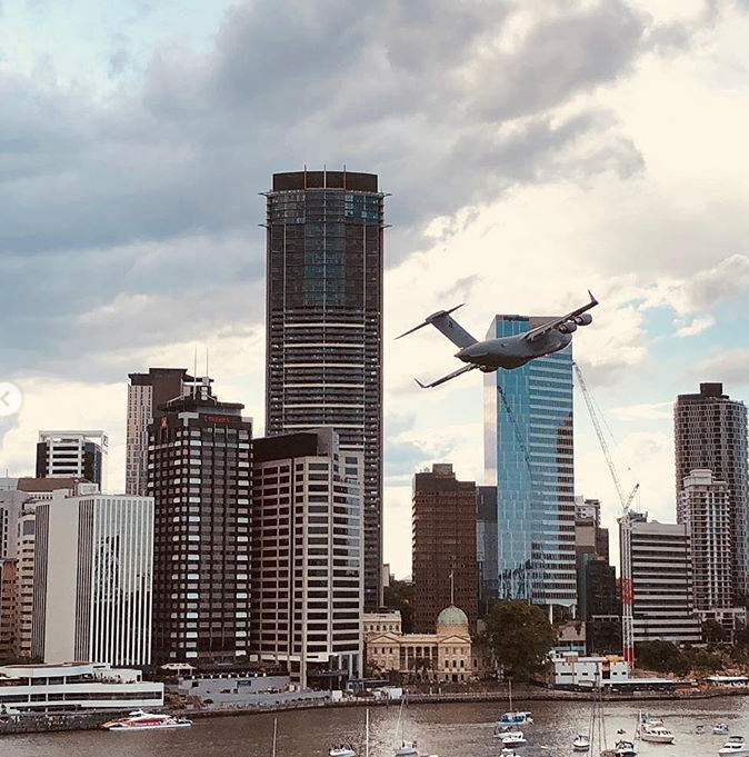 Scary Footage Of Airplane Flying Towards Buildings In Australia