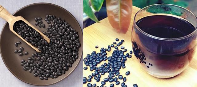 Nước đậu đen rang trị mụn hiệu quả