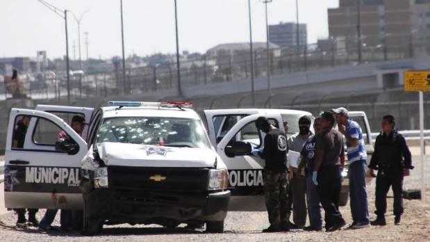 En 4 días Sicarios han atacado 6 veces a policías en Ciudad Juárez