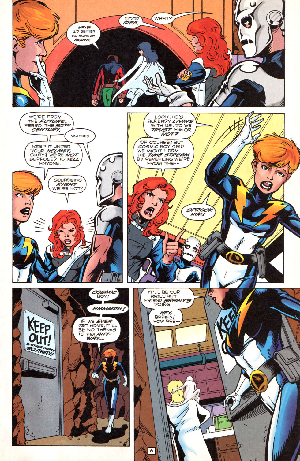 Legion of Super-Heroes (1989) 89 Page 5