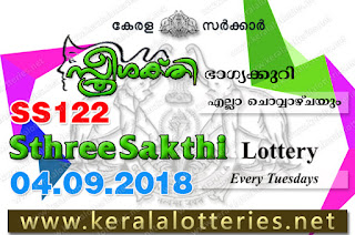 """kerala lottery result 4.9.2018 sthree sakthi ss 122"" 4th september 2018 result, kerala lottery, kl result,  yesterday lottery results, lotteries results, keralalotteries, kerala lottery, keralalotteryresult, kerala lottery result, kerala lottery result live, kerala lottery today, kerala lottery result today, kerala lottery results today, today kerala lottery result, 04 09 2018, 04.09.2018, kerala lottery result 04-09-2018, sthree sakthi lottery results, kerala lottery result today sthree sakthi, sthree sakthi lottery result, kerala lottery result sthree sakthi today, kerala lottery sthree sakthi today result, sthree sakthi kerala lottery result, sthree sakthi lottery ss 122 results 4-9-2018, sthree sakthi lottery ss 122, live sthree sakthi lottery ss-122, sthree sakthi lottery, 4/9/2018 kerala lottery today result sthree sakthi, 04/09/2018 sthree sakthi lottery ss-122, today sthree sakthi lottery result, sthree sakthi lottery today result, sthree sakthi lottery results today, today kerala lottery result sthree sakthi, kerala lottery results today sthree sakthi, sthree sakthi lottery today, today lottery result sthree sakthi, sthree sakthi lottery result today, kerala lottery result live, kerala lottery bumper result, kerala lottery result yesterday, kerala lottery result today, kerala online lottery results, kerala lottery draw, kerala lottery results, kerala state lottery today, kerala lottare, kerala lottery result, lottery today, kerala lottery today draw result"