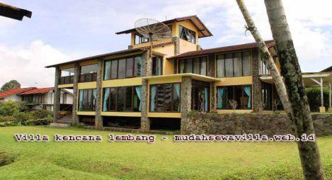 Villa Kencana Lembang Halaman Luas Harga Hemat Di Budget
